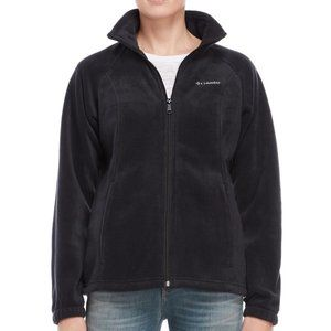 Columbia Fleece Full Zip Jacket Mount Cannon Black